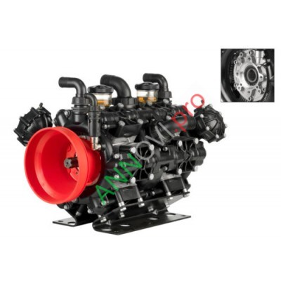 Мембранный насос AR 500 BP TWIN C/F (Ø 32)