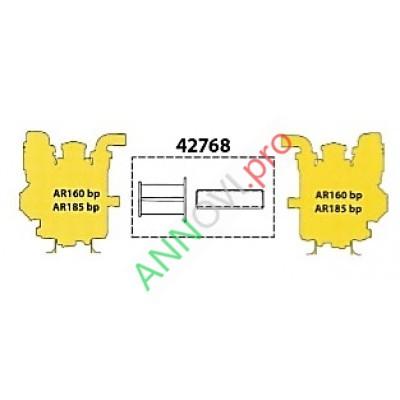 Фланец и муфта для сопряжения насосов низкого давления AR160-185